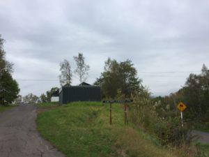 キャンプ場の入口