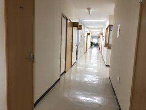ふるさと交流センターの廊下
