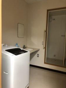 男性専用のお風呂場・洗濯機